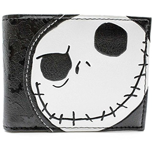 tim-burton-nightmare-before-christmas-embossed-jack-skellington-noir-portefeuille