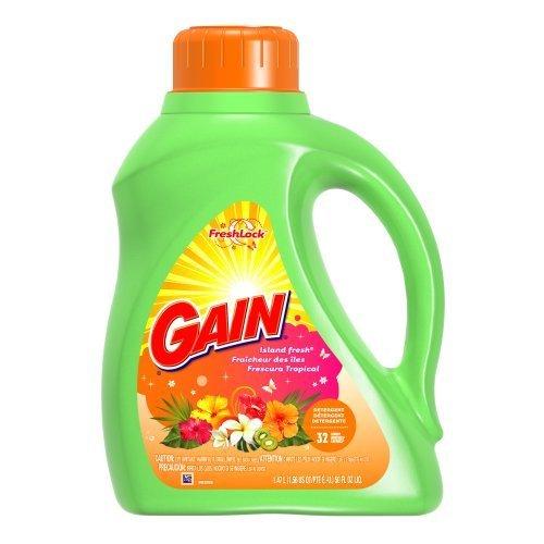 gain-detergent-liquide-2x-ultra-formule-originale-sans-phosphate-odeur-fraiche-des-iles-147-l-lot-de