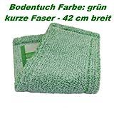 Jemako Bodentuch Bodenfaser grün kurze Faser 42cm