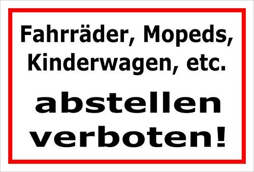 Melis Folienwerkstatt Schild - Fahr-räder Mopeds Kinder-wagen gebraucht kaufen  Wird an jeden Ort in Deutschland