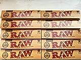 Raw Papier à Rouler RAW King Size Slim Lot de 1010carnets de papier à rouler = 320feuilles ITK _ TRADE