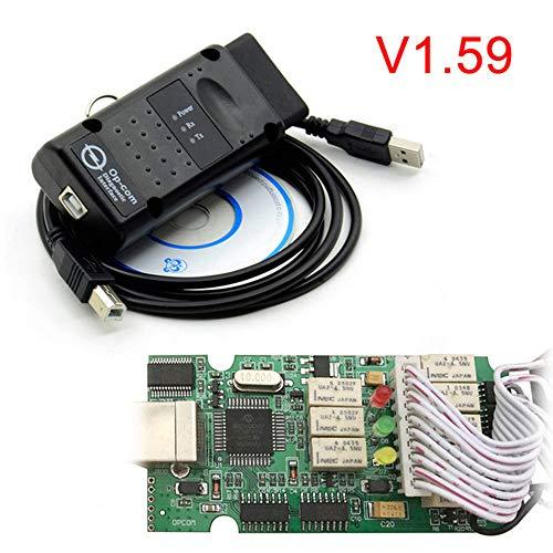 Preisvergleich Produktbild ZHUOYUE OPCOM 1.65 1.70 V1.78 1.95 1.99 Für Opel Diagnosescanner OP COM V1.59 CANBUS OP-COM OBD2 Superscanner, OPCOM1.59