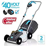 Swift 40 V EB132C2 Cordless Digital Compact Lawn Mower Cutting Width 32 cm,