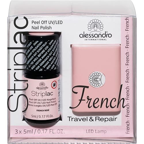 Alessandro Striplac French Travel & Repair Kit French Rose