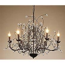 c733fe8bb00 DKZ Iluminación de interior Lámparas de araña Iluminación de cristal de la  lámpara