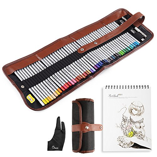 o Fingerhandschuh-Radiergummi, doppelter Extender-Stifthalter, multifunktionaler A4-Umschlag mit kleiner Scheren-Anspitzer ()