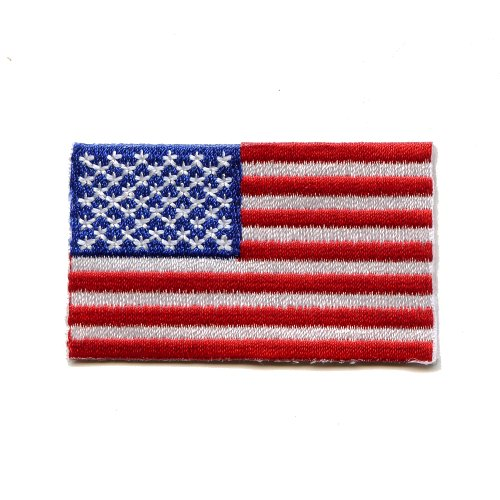 USA Washington Amerika America Flag US Flagge Patch Aufnäher Aufbügler 0069 (Us Patches Flag)