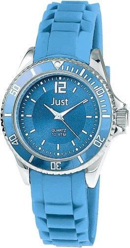 Just Watches 48-S3857-BL - Orologio da polso da donna, cinturino in caucciù colore blu