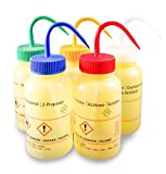 Laborshop24 - 55000500-A - Sicherheitsflasche, Weithals 500 ml, Spritzflasche, Waschflasche, Polyethylen (LDPE) (Aceton)