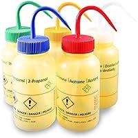 Laborshop24 - Sicherheitsflasche, Weithals 500 ml, Spritzflasche, Waschflasche, Polyethylen (LDPE)