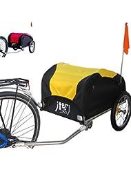 Iter Remorque de vélo pour transport de bagages, matériaux, courses et objets - Idéal Cyclotourisme