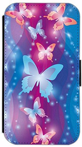 Flip Cover für Apple iPhone 6 / 6S (4,7 Zoll) Design 162 Affe Hülle aus Kunst-Leder Handytasche Etui Schutzhülle Case Wallet Buchflip mit Bild (162) 165