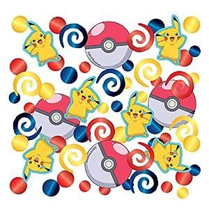 Amscan International Amscan 9904827 - Confeti para fiestas (1 unidad), diseño de Pokémon