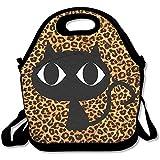 Big Eye Cat tragbare große und dicke Neopren-Lunch-Taschen, isolierte Lunch-Tasche, Kühltasche,...
