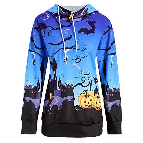 Zombie Ideen Für Selbstgemachte Kostüm - Halloween Kürbis Teufel Damen Sweatshirt Lang