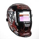 Automatik Solar Schweißhelm Schweißschirm Schweißschild Automatisch verdunkeln, Energiesparen Helm ARC TIG MIG Welding Helmet