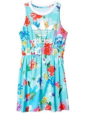 adidas Mädchen J Flwr Dress Kleid