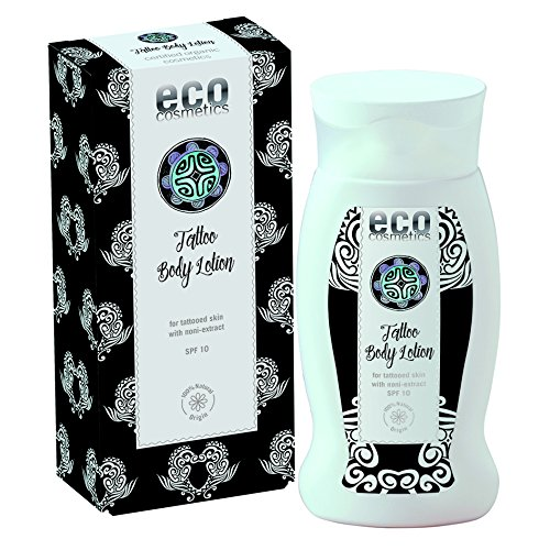 eco cosmetics Tattoo Körperlotion LSF10 200ml (bio, vegan, Naturkosmetik) (Bio-tattoo)