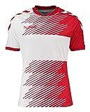 Hummel Ligue T-shirt pour garçon en jersey, Garçon, T-Shirt Liga Jersey, Rouge/blanc