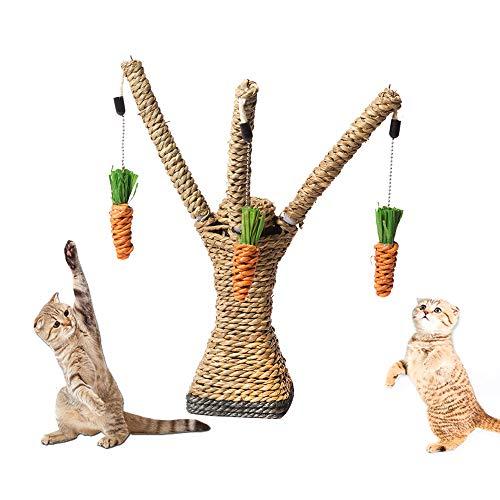 PET SPPTIES Interaktive Baumturmleiter des Katzenspielzeug die kleines Krautkatzenspielzeug klettert katzenbaum PS054 (27 * 10 * 8cm)