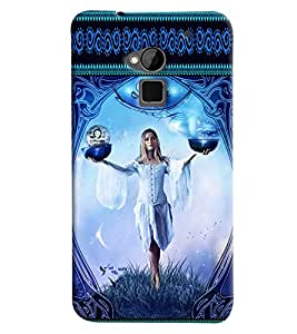Omnam Sun Sign Libra Printed Back Cover Case For HTC One Max