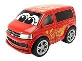 Dickie Toys 203811003 - VW T6 Squeezy mit knautschbarer Karosserie, 11 cm - Sortierte Farbe