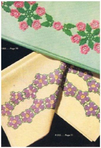 #0568 WILD ROSE SCROLL VINTAGE CROCHET PATTERN (Single Patterns) (English Edition) - Rose Scroll