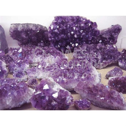 Mineral Import - Drusa Amatista Brasil Calidad...