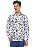 Oxolloxo Men Blue Printed Shirt