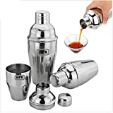 #6: Wine Mocktail Juices Cocktail Shaker (stainless steel 600 ml ) Brand HPK