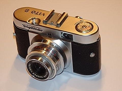 Voigtlander–Petit appareil photo Vito B–Date de Fabrication cirka 1954–1958–Objectif: Color skopar 1: 3.5/50mm, fermeture Pronto à 1/250Seconde–Rare–Collection de Résultats de caméra # # rares Camera–Collector–Non Vérifié–by lll Group