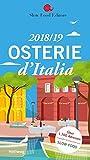 Produkt-Bild: Osterie d'Italia 2018/19: Über 1.700 Adressen, ausgewählt und empfohlen von SLOW FOOD (Hallwag Gastronomische Reiseführer)