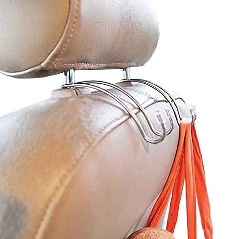 zhiyi Innovations Mini Siège auto Cintres crochet multi-usages, crochets pour