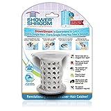 ShowerShroom revolutionäre 5,1cm Stand-up Dusche Stall abflussschutz Haarsieb/Siebkörbchen grau