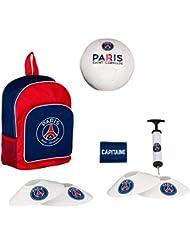 Ballon + sac + pompe + cones + brassard PSG - Collection officielle Paris Saint Germain