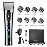 WONER Cordless Hair Clippers for Men Professional Rechargeable Hair Trimmers Hair Cutting Kit