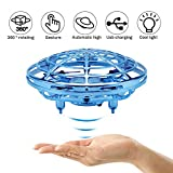 Mini Drone Flying Toy for Kids Adults,Rechargeable Hand-Controlled Flying Ball, Infrared Induction Quadcopter