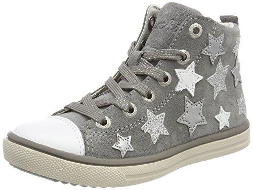 Lurchi Mädchen Starlet Stiefel Grau (Grey) 34 EU