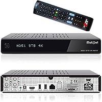 Mutant HD51 Hevc 265 Ultra HD 4K 2160p Linux E2 2x DVB-S2 Tuner inkl. 2000 GB Festplatte