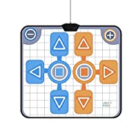 Dance Mat for Nintendo Wii, Non-slip Double Person Dance Dance Revolution Dance Pad for Nintendo Wii Console Game
