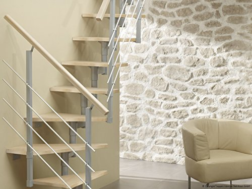Profigold Space Saver Staircase Kit York 30 mm Beech Multiplex Step In 3 Colours