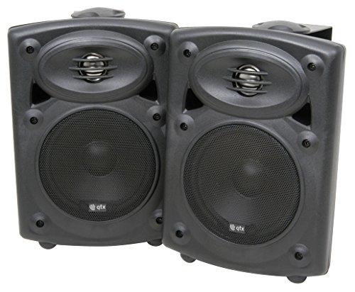 QTX QR5A PA Lautsprecher Set aktiv + passiv 40 W