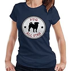 Pug All Star Women's T-Shirt