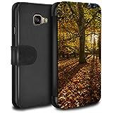 Stuff4 Coque/Etui/Housse Cuir PU Case/Cover pour Samsung Galaxy A3 (2016) / Forêt Design / Automne Saison Collection