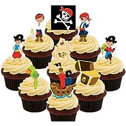 Decoración tarta, Los piratas de nunca jamás.