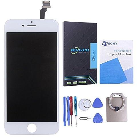 Htechy Ecran Tactile LCD Vitre Digitizer Remplacement Retiné pour iPhone