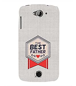 YuBingo Designer Printed Plastic Mobile Back Case Cover Panel for Acer Liquid Z630 ( The Best Father )