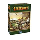 Lookout Games 22160094 - Riverboat, Kennerspiel von Michael Kiesling