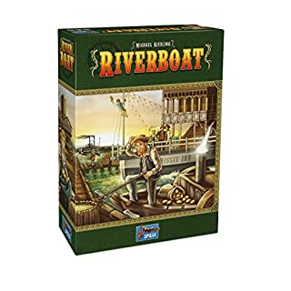 Lookout Games 22160094 - Riverboat, Kennerspiel von Michael Kiesling (B077T9XMKQ) | Amazon Products