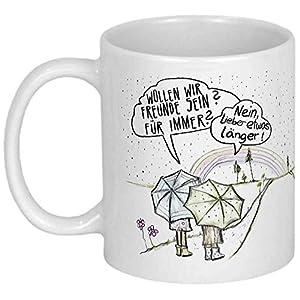 My Sweetheart® Freundinnen Geschenk für beste Freundin Weihnachtsgeschenke Geburtstagsgeschenk Tasse mit Spruch Geschenke Freunde